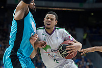 Movistar Estudiantes Omar Cook and Unicaja Malaga  Ray McCallum during Liga Endesa match between Movistar Estudiantes and Unicaja Malaga at Wizink Center in Madrid , Spain. March 04, 2018. (ALTERPHOTOS/Borja B.Hojas) /NortePhoto.com NORTEPHOTOMEXICO