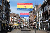 Straat in Venlo tijdens Carnaval