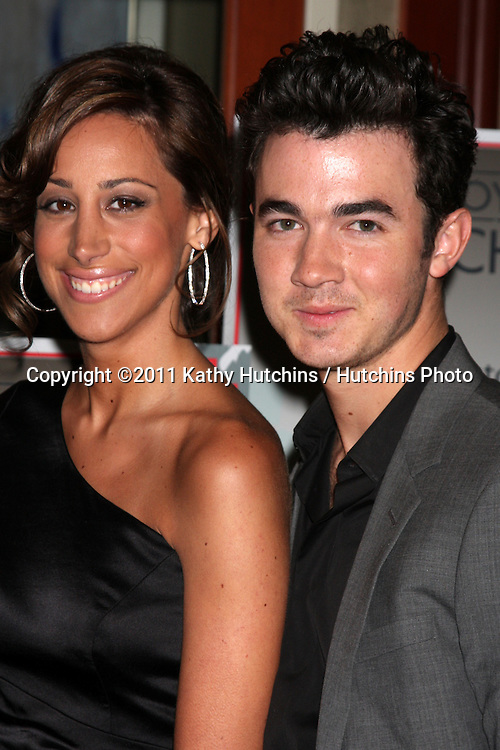 LOS ANGELES - APR 15:  Kevin Jonas & Wife Danielle attending the 2011 Toyota Grand Prix Charity Ball at Westin Long Beach on April 15, 2011 in Long Beach, CA.