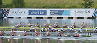 Lucerne, SWITZERLAND<br /> <br /> USA 8+. head the field,  to book their place in Rio. 2016 European Olympic Qualifying Regatta, Lake Rotsee.<br /> <br /> Tuesday  24/05/2016<br /> <br /> [Mandatory Credit; Peter SPURRIER/Intersport-images]