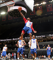 Kevin Ware at the NBPA Top100 camp at the John Paul Jones Arena Charlottesville, VA. Visit www.nbpatop100.blogspot.com for more photos. (Photo © Andrew Shurtleff)