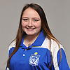 Kellie Ann Sandas of Kellenberg girls bowling poses for a portrait during Newsday's 2018-19 season preview photo shoot at company headquarters in Melville on Monday, Dec. 3, 2018.