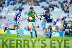 Brian Friel Kerry in action against Philip Nulty Cavan in the All Ireland Minor Semi Final in Croke Park on Sunday.
