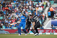 Tim Southee (New Zealand) appeals in vain during India vs New Zealand, ICC World Cup Warm-Up Match Cricket at the Kia Oval on 25th May 2019