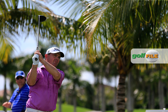 Greg Chalmers (AUS) during the 2nd round at the WGC Cadillac Championship, Blue Monster, Trump National Doral, Doral, Florida, USA<br /> Picture: Fran Caffrey / Golffile