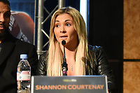 Shannon Courtenay during a Press Conference at the Grange City Hotel on 6th February 2019