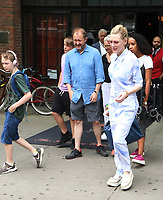 AUG 14 Cate Blanchett and family seen in New York City