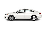 Car Driver side profile view of a 2015 Subaru Legacy 2.5I Premium 4 Door Sedan 2WD Side View