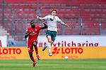 Moussa Niakhate / Niakhaté (FSV Mainz 05 #19), Joshua Sargent (Werder Bremen #19)<br /> <br /> <br /> Sport: nphgm001: Fussball: 1. Bundesliga: Saison 19/20: 33. Spieltag: 1. FSV Mainz 05 vs SV Werder Bremen 20.06.2020<br /> <br /> Foto: gumzmedia/nordphoto/POOL <br /> <br /> DFL regulations prohibit any use of photographs as image sequences and/or quasi-video.<br /> EDITORIAL USE ONLY<br /> National and international News-Agencies OUT.