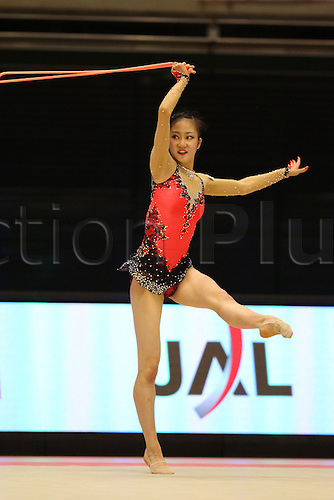 Runa Yamaguchi (JPN), .OCTOBER 9, 2010 - Rhythmic Gymnastics : .AEON CUP 2010 .Worldwide R.G. Club Championships .at Tokyo Metropolitan Gymnasium, Tokyo, Japan. .