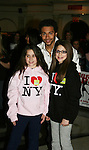 "Corbin Bleu and fans at the 14th Annual Kids' Night on Broadway 2010  ""Fan Festival"" on February 2, 2010 at Madame Tussauds New York. Corbin Bleu (new star of In the Heights and High School Musical veteran. (Photo by Sue Coflin/Max Photos)"