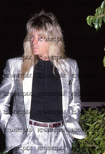 GREGG GIUFFRIA  - Los Angeles USA - Sept 1986. Photo Credit : David Plastik/ IconicPix
