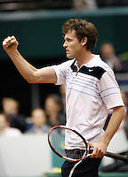 21-2-07,Tennis,Netherlands,Rotterdam,ABNAMROWTT,Dennis van Scheppinge defeats Gael Monfils