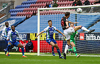 Bolton Wanderers' Gary O'Neil shoots at goal <br /> <br /> Photographer Andrew Kearns/CameraSport<br /> <br /> The EFL Sky Bet Championship - Wigan Athletic v Bolton Wanderers - Saturday 16th March 2019 - DW Stadium - Wigan<br /> <br /> World Copyright &copy; 2019 CameraSport. All rights reserved. 43 Linden Ave. Countesthorpe. Leicester. England. LE8 5PG - Tel: +44 (0) 116 277 4147 - admin@camerasport.com - www.camerasport.com