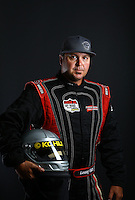 Mar. 21, 2014; Chandler, AZ, USA; LOORRS pro buggy driver Lonny Hart poses for a portrait prior to round one at Wild Horse Motorsports Park. Mandatory Credit: Mark J. Rebilas-USA TODAY Sports