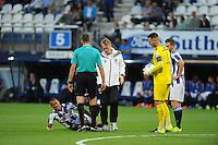 VOETBAL: HEERENVEEN: Abe Lenstra Stadion 29-08-2015, SC Heerenveen - PEC Zwolle, uitslag 1-1, Luciano Slagveer (#7), ©foto Martin de Jong