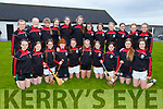 The Cillard U14 Camogie team who are taking part in National Feile hurling and camogie competition which is part held in Kerry this weekend,