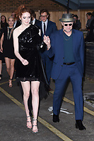 Karen Gillan &amp; Michael Rooker at the European premiere for &quot;Guardians of the Galaxy Vol.2&quot; at the Hammersmith Apollo, London, UK. <br /> 24 April  2017<br /> Picture: Steve Vas/Featureflash/SilverHub 0208 004 5359 sales@silverhubmedia.com