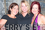PARTY: Attending the New Year's Eve party in the Exchange Bar, Ballybunion, on Monday were: Elaine Griffith, Bobby Foley and Jill Fitzgerald.   Copyright Kerry's Eye 2008