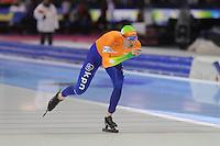 SCHAATSEN: HEERENVEEN: IJsstadion Thialf, 16-11-2012, Essent ISU World Cup, Season 2012-2013, Men 5000 meter Division A, Ted-Jan Bloemen (NED), ©foto Martin de Jong