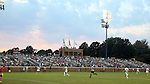 10 September 2016: A crowd of 3,275 watches the game. The Wake Forest University Demon Deacons hosted the University of Virginia Cavaliers in a 2016 NCAA Division I Men's Soccer match. Wake Forest won the game 1-0 in sudden death overtime.