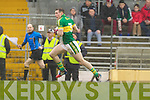 Marc O Se, Kerry in action against   Tyrone in the fourth round of the National Football league at Fitzgerald Stadium, Killarney on Sunday.