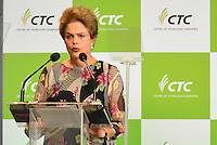 PIRACICABA,SP, 14.10.2015 - DILMA-SP. A presidente Dilma Rousseff durante a inauguração do complexo de laboratórios de biotecnologia do CTC ( Centro de Tecnologia Canavieira ), em Piracicaba (SP), nesta quarta-feira, 14. (Foto: Mauricio Bento/ Brazil Photo Press)