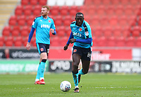 Toumani Diagouraga of Fleetwood Town during the Sky Bet League 1 match between Rotherham United and Fleetwood Town at the New York Stadium, Rotherham, England on 7 April 2018. Photo by Leila Coker.