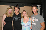"All My Children's Jeff Branson ""Jonathan Lavery"" stars in a new romantic comedy, My Life As You, with costars Ashley Wren Collins, Kelli Porterfield and Stuart Lopoten during soap night on September 15, 2006 at the Producers Club II, NYC. (Photo by Sue Coflin/Max Photo)"