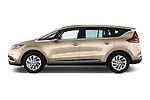 Car Driver side profile view of a 2015 Renault Espace Intens 5 Door Minivan Side View