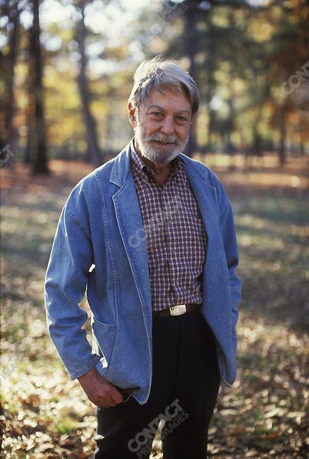 Shelby FOOTE, Civil War historian. Memphis, Tennessee, November 1990.