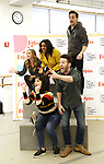 "Eden Espinosa, Nick Blaemire, Audrey Cardwell, Bryonha Marie Parham and Max von Essen during the rehearsal performance of  ""Falsettos""  at the New Ripley Grier on January 25, 2019 in New York City."