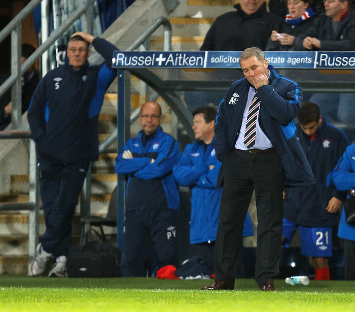 Ally McCoist dejection