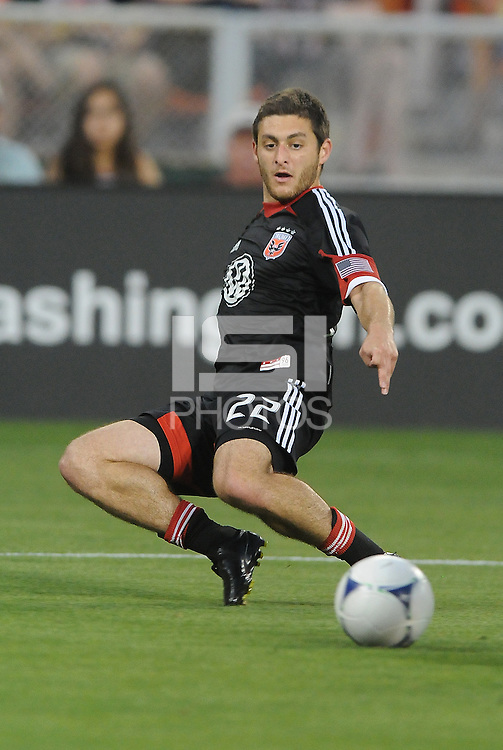 D.C. United defender Chris Korb (22) D.C. United defeated Toronto FC 3-1 at RFK Stadium, Saturday May 19, 2012.