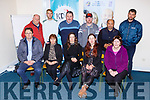 Graduates of the Home Repair and Maintenance Course received their certificates in the Killarney KDYS on Tuesday front row Noel Spring SKDP CEO, Bridie Buckley Manager South Kerry Employment Service, Christina Carroll Dept of Employment Affairs and Social Protection, Maura Brid McCrohan Mediator LES, Mary Flynn Sec LES. Back row: Angelo Cirillo, Paul O'Connell, Patrick McCarthy LES mediator Richard Coffey, Alexander Pitchpott, Stefan Anghel,