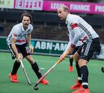 AMSTELVEEN - Adidas, Billy Bakker (Adam)  tijdens de hoofdklasse competitiewedstrijd heren, AMSTERDAM-ROTTERDAM (2-2). . COPYRIGHT KOEN SUYK