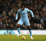 Wilfried Bony of Manchester City - Barclays Premier League - Manchester City vs Newcastle Utd - Etihad Stadium - Manchester - England - 21st February 2015 - Picture Simon Bellis/Sportimage