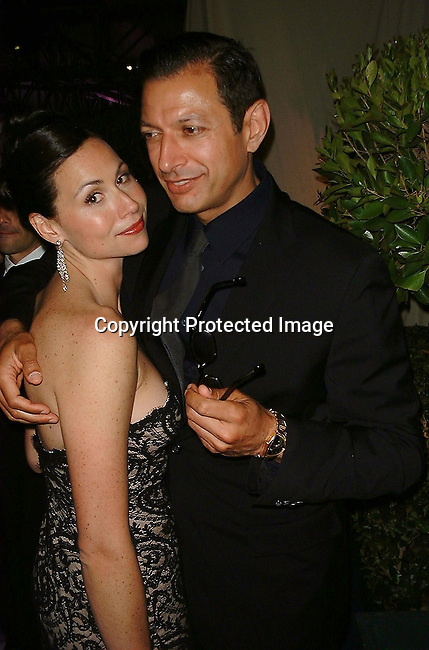 Minnie Driver &amp; Jeff Goldbloom<br />