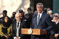 MAR 15 NYC Mayor Press Conference at the Islamic Cultural Center