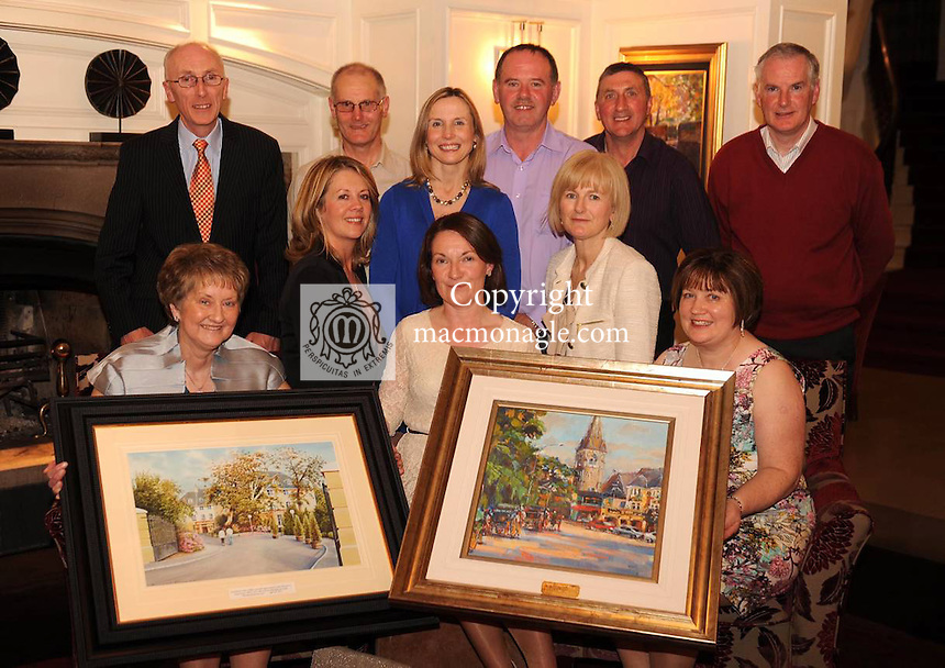 Members of the team at Killarney Park Hotel and The Ross Hotel who  received special awards and recognition for 20 years of loyal service at a function in The Killarney Park Hotel last Friday night.  Front row from left are  Beatrice Murphy, Niamh O'Shea, Eleanor O'Doherty, Janet Treacy and Noreen McSweeney. Back row from left are  Padraig Treacy, John O'Brien, Kathryn Cronin, James Coffey, Jerry Cremin and  Dermot Keogh. Picture: Eamonn Keogh (MacMonagle, Killarney)