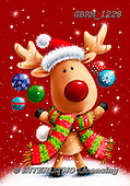 Roger, CHRISTMAS ANIMALS, WEIHNACHTEN TIERE, NAVIDAD ANIMALES, paintings+++++_RM-15-11561228,GBRM1228,#xa#