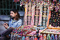 Souvenirs in the streets of Athens, Greece