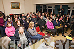 A very well attended public meeting took place at the Bay View Hotel in Waterville on Wednesday night last raising concerns about the level of funding being given to the Gaeltacht Areas, the meeting was chaired by Michael O? Leidhin and Cai?tli?n Breathnach.