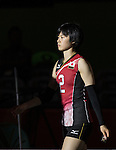 Haruka Miyashita (JPN), <br /> AUGUST 8, 2016 - Volleyball : <br /> Women's Preliminary Pool A <br /> between Japan 3-0 Cameroon <br /> at Maracanazinho <br /> during the Rio 2016 Olympic Games in Rio de Janeiro, Brazil.<br /> (Photo by Enrico Calderoni/AFLO SPORT)