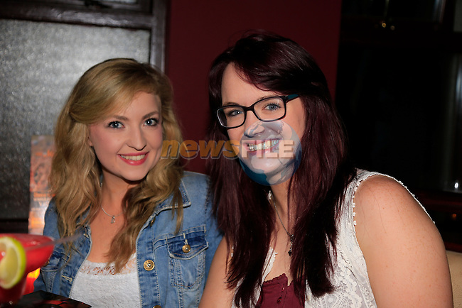 Dearbhail Kerr Gemma Byrne enjoying a night out on the town.<br /> Picture: www.newsfile.ie