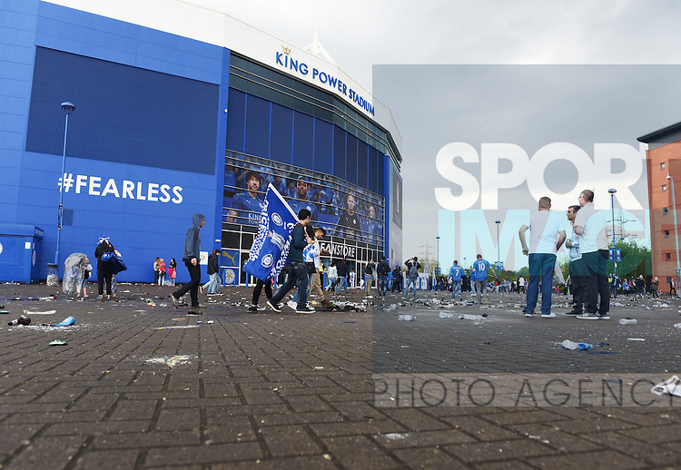 The King Power Stadium during  Leicester V Everton. Photo credit should read: Nathan Stirk/Sportimage<br /> <br /> <br /> <br /> <br /> <br /> <br /> <br /> <br /> <br /> <br /> <br /> <br /> <br /> <br /> <br /> <br /> <br /> <br /> <br /> <br /> <br /> <br /> <br /> <br /> <br /> <br /> <br /> <br /> <br /> <br /> <br /> - Newcastle Utd vs Tottenham - St James' Park Stadium - Newcastle Upon Tyne - England - 19th April 2015 - Picture Phil Oldham/Sportimage