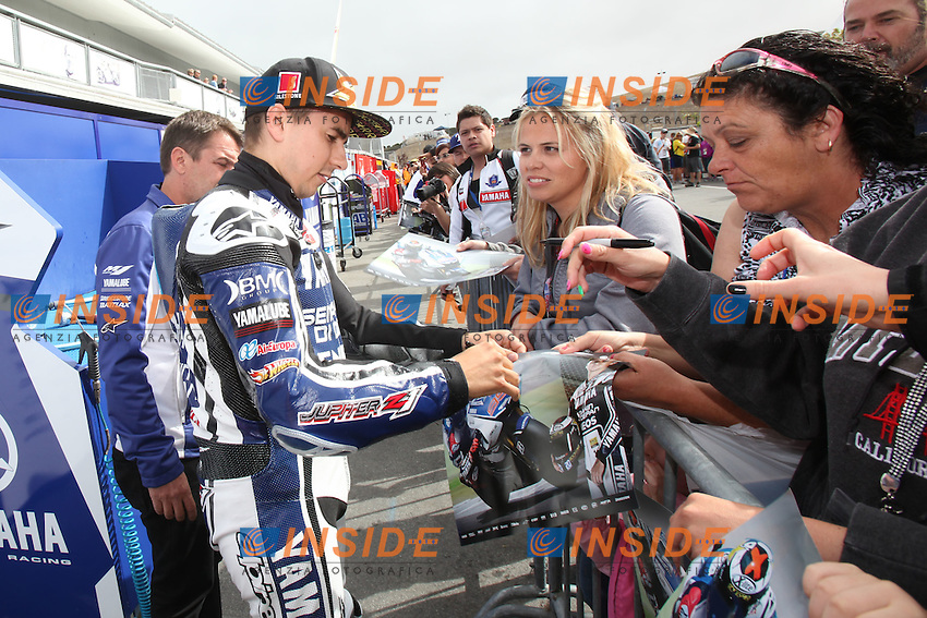 ©  Insidefoto/Semedia.27-07-2012 Laguna Seca (USA).Motogp - motogp.in the picture: Jorge Lorenzo - Yamaha factory team