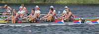 Rotterdam. Netherlands.  Bronze medal winners, USA JM4X. Bow. David ORNER, Andrew LE ROUX, Zachary SKYPECK and Clark DEAN, 2016 JWRC, U23 and Non Olympic Regatta. {WRCH2016}  at the Willem-Alexander Baan.   Sunday  28/08/2016 <br /> &bull;<br /> &bull;[Mandatory Credit; Peter SPURRIER/Intersport Images]