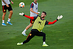 David De Gea during the Trainee Session at Ciudad del Futbol in Las Rozas, Spain. September 02, 2019. (ALTERPHOTOS/A. Perez Meca)