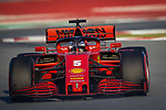 Scuderia Ferrari Mission Winnow, Sebastian Vettel, takes part in the tests for the new Formula One Grand Prix season at the Circuit de Catalunya in Montmelo, Barcelona. February 19, 2020 (ALTERPHOTOS/Javier Martínez de la Puente)
